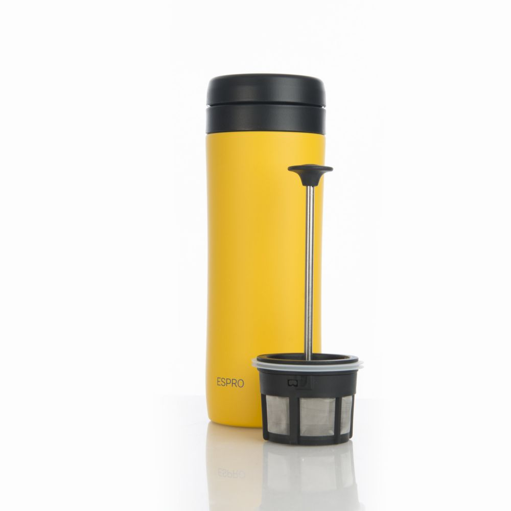 ESPRO Travel Press - 350 ml zářivě žlutý